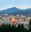 Eugene Skyline by UpShotz